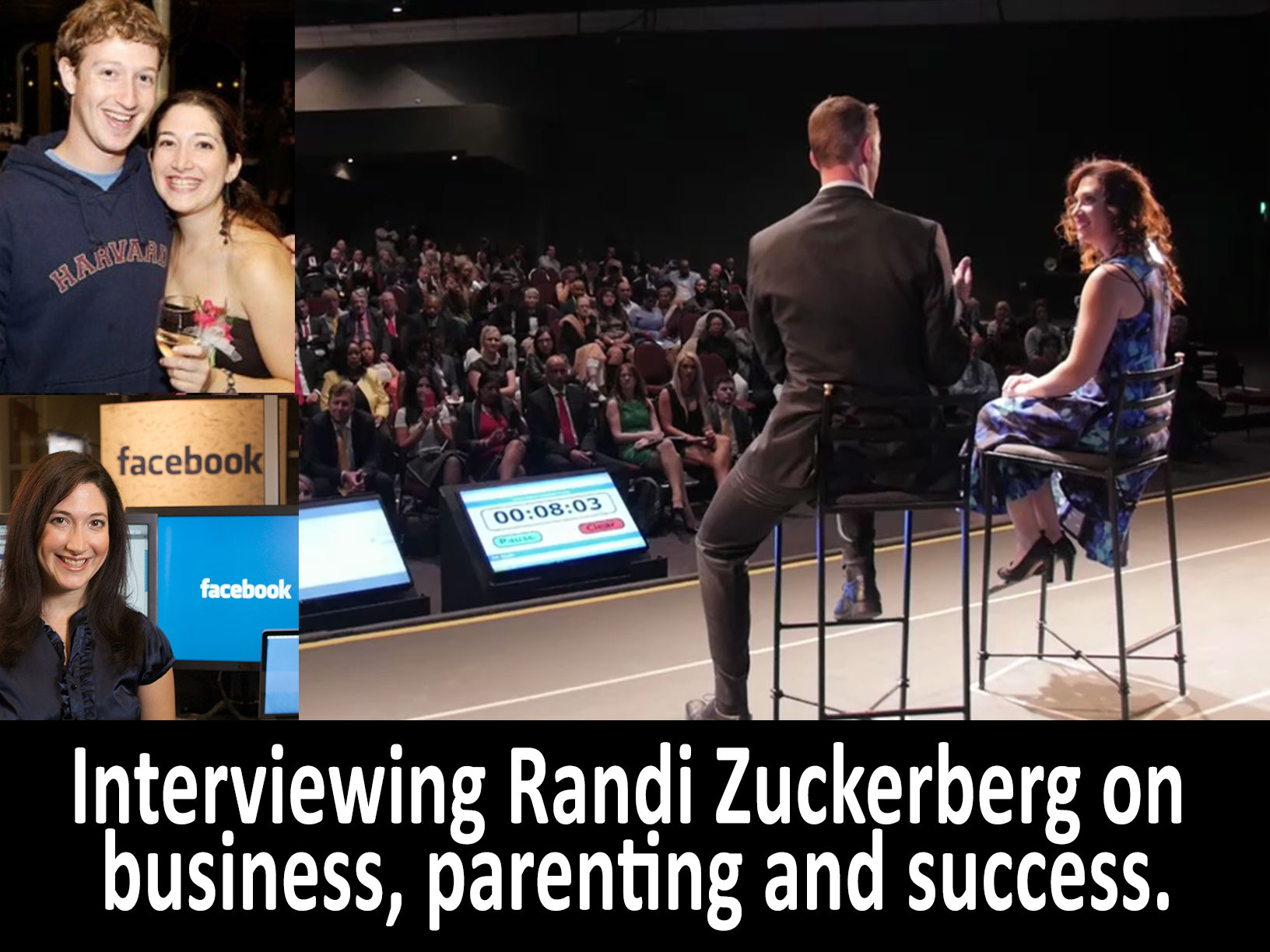 Robin Booth and Randy Zuckerberg